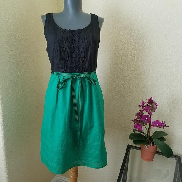 Anthropologie Dresses   Skirts - Maeve Anthropologie Pintuck Cotton Dress  ... faa9ebfdf